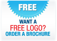 Want a free logo, order a brochure